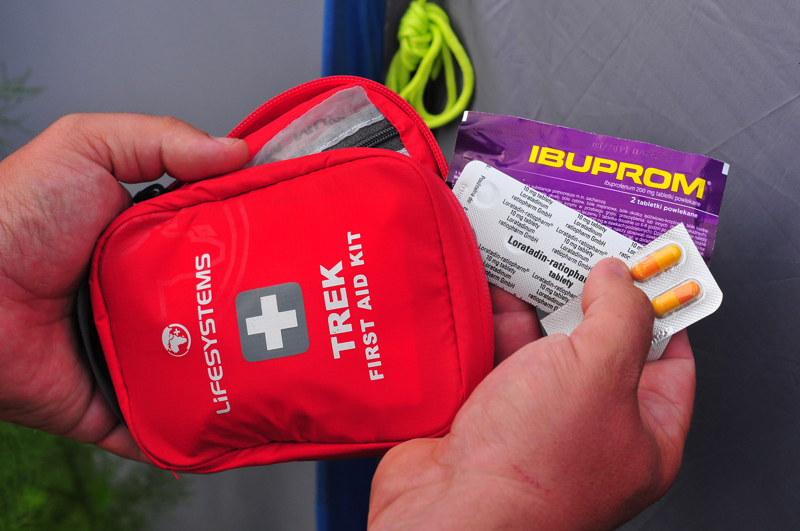 Lekárnička Trek First Aid Kit od Lifesystems